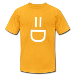 smiley face tee - Men's Fine Jersey T-Shirt