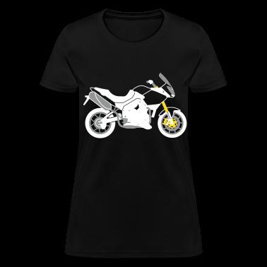 Black Triumph Tiger 1050 Women's T-Shirts