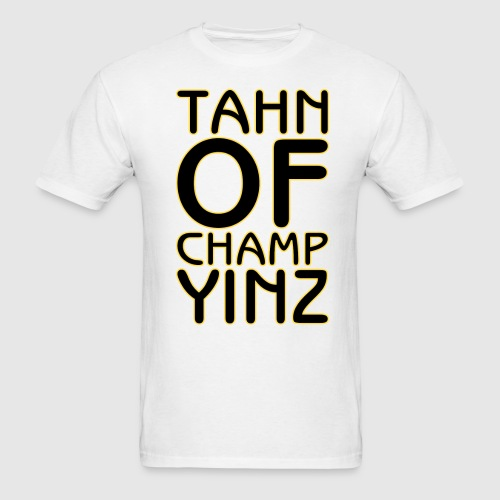 TAHN OF CHAMPYINZ - Men's T-Shirt