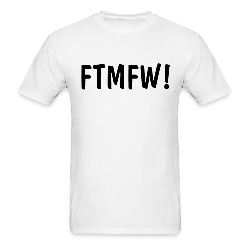 FOR THE MUTHAEFFIN WIN!! - Men's T-Shirt