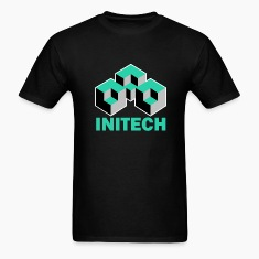 Black Initech Office Space T-Shirts