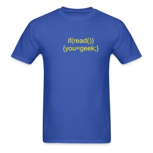 If you can read this - Men's T-Shirt