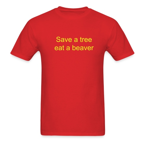 Save a tree - Men's T-Shirt