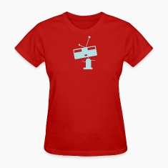 Red robot Women's T-Shirts