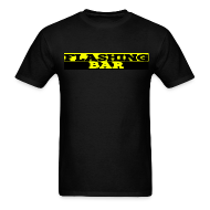 T-Shirts ~ Men's T-Shirt ~ Standard Weight FLASHING BAR T-shirt (Mens)