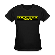 T-Shirts ~ Women's T-Shirt ~ Standard Weight FLASHING BAR T-shirt (Womens)