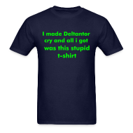 T-Shirts ~ Men's T-Shirt ~ Deltantor shirt (Mens) Standard Weight