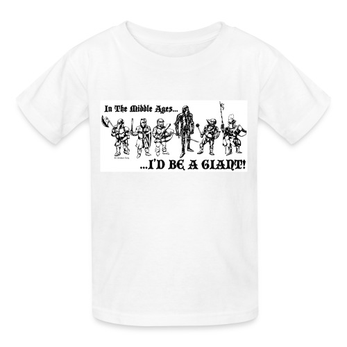 Giant Knight Kids Multi color - Kids' T-Shirt