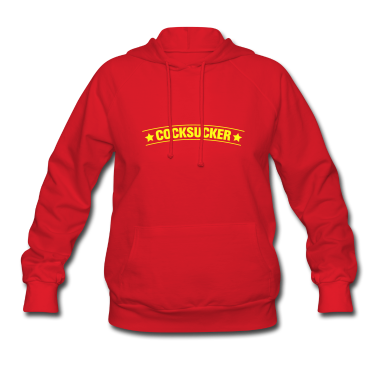 Red cocksucker porn sex blowjob Hooded Sweatshirts
