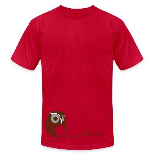 Hoot - Lime - Men's  Jersey T-Shirt