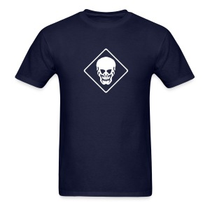Skull T-Shirt navy - Men's T-Shirt