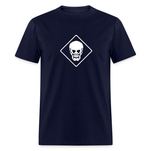 Skull T-Shirt navy - Men's T-Shirt