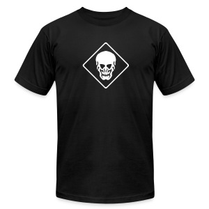 Skull AA-Tee - Men's T-Shirt by American Apparel