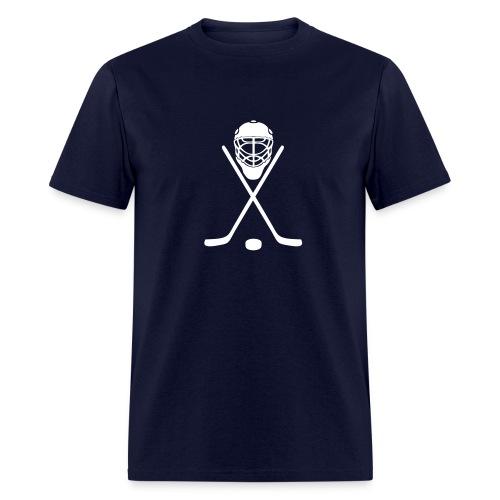 Hockey Team or Hockey Mom - Men's T-Shirt