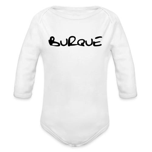 Burque - long sleeve  - kids - white - Organic Long Sleeve Baby Bodysuit