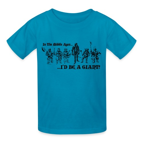 Kids Knight T-shirt - Kids' T-Shirt
