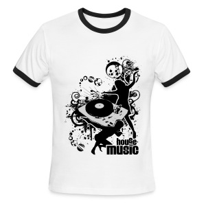Club Star - Men's Ringer T-Shirt