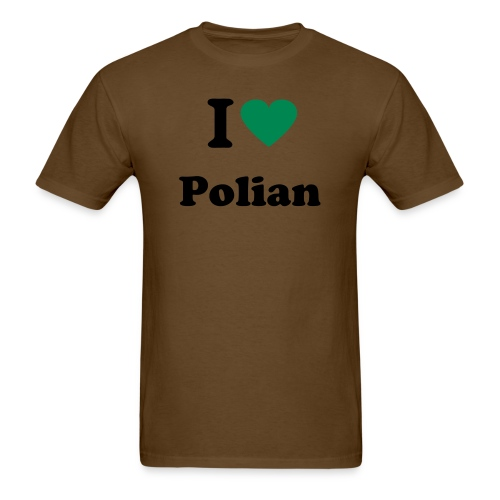 I Love Polian - Men's T-Shirt