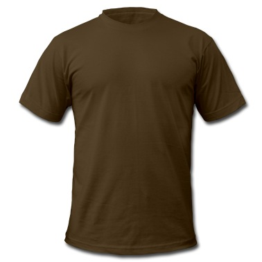 Brown Go Green Bike Recycle  T-Shirts