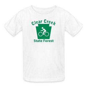 Clear Creek State Forest Keystone Biker - Kids' T-Shirt