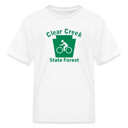 Clear Creek State Forest Keystone Biker - Kids' T-Shirt