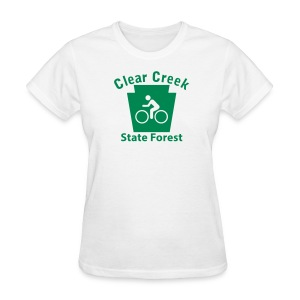 Clear Creek State Forest Keystone Biker - Women's T-Shirt