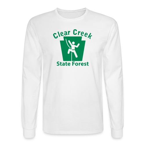 Clear Creek State Forest Keystone Climber - Men's Long Sleeve T-Shirt