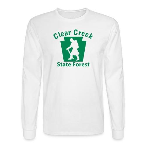 Clear Creek State Forest Keystone Hiker (female) - Men's Long Sleeve T-Shirt