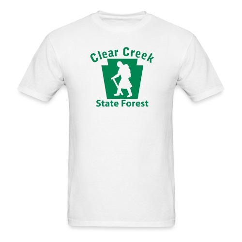 Clear Creek State Forest Keystone Hiker (female) - Men's T-Shirt