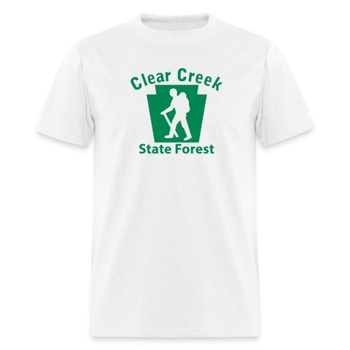 Clear Creek State Forest Keystone Hiker (male) - Men's T-Shirt