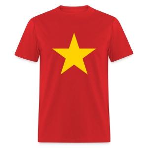 Hot Red T-Shirt (non-organic) - Men's T-Shirt