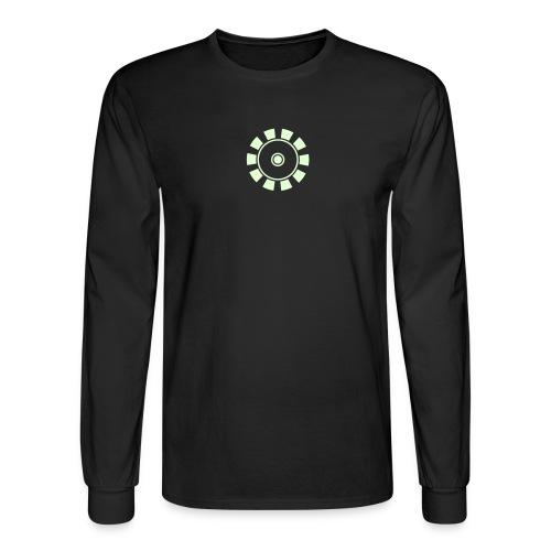 ARC REACTOR Longsleeve T-Shirt Glow in the Dark  - Men's Long Sleeve T-Shirt
