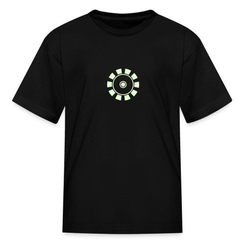 ARC REACTOR T-Shirt Glow in the Dark - Kids T-Shirt  - Kids' T-Shirt