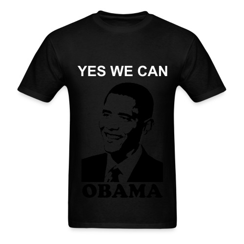 Barack Yes We Can Tee - Men's T-Shirt