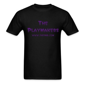 The PMB Base Tee-Black/Purple - Men's T-Shirt