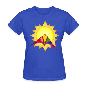 Summertime Kite - Women's T-Shirt