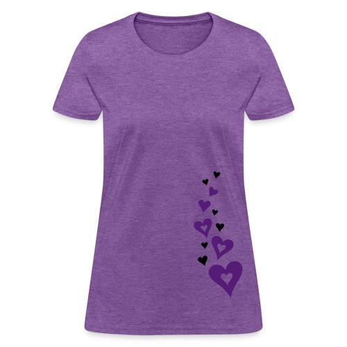 Heart Standard Weight T-Shirt - Women's T-Shirt