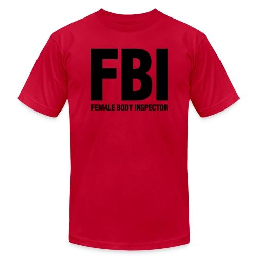 Men's FBI Tee - Men's Fine Jersey T-Shirt