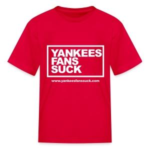 Official Yankees Fan Suck T-Shirt! - Kids' T-Shirt