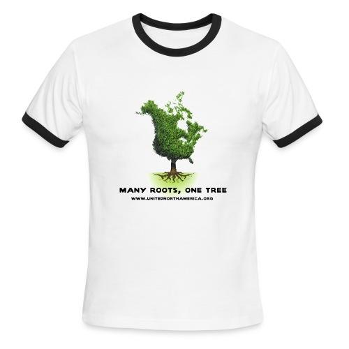 United North America Lightweight AA Ringer Tee - Men's Ringer T-Shirt