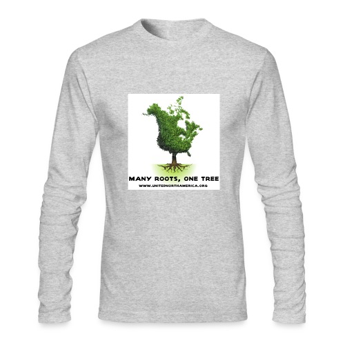 United North America AA Long Sleeve - Men's Long Sleeve T-Shirt by Next Level