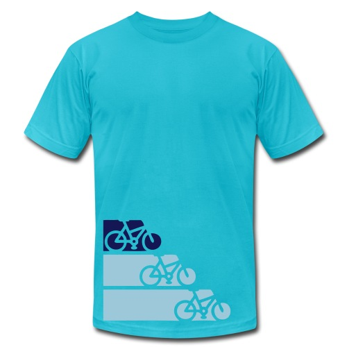 Bike Ride - Men's Fine Jersey T-Shirt