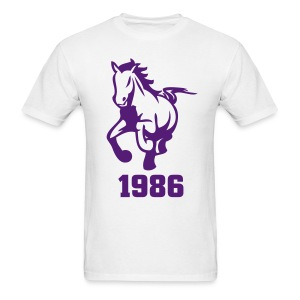 SLB Illustrated Stallion 1986 Shirt - Men's T-Shirt