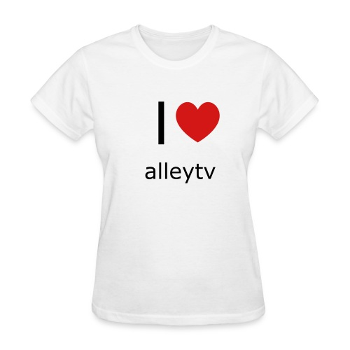 I ♥ Alleytv - Women's T-Shirt