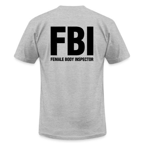 Female Body Inspector shirt - Men's Fine Jersey T-Shirt