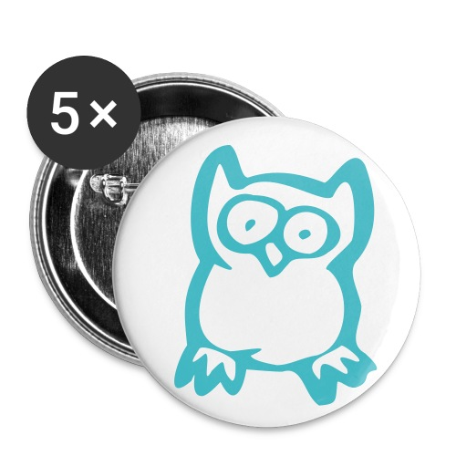 Mr. Hoot Buttons - Buttons small 1'' (5-pack)