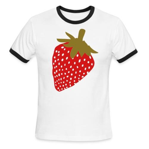 Strawberry - Men's Ringer T-Shirt