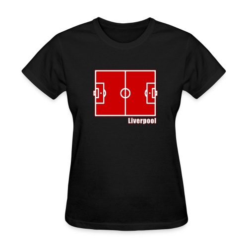Liverpool FC Footy Pitch - Women's T-Shirt