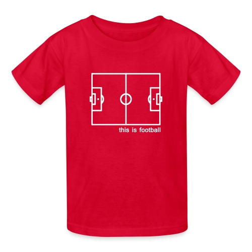 This Is Football - Kids' T-Shirt