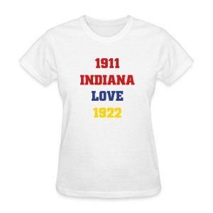 Women's Indiana Love Shirt - Women's T-Shirt